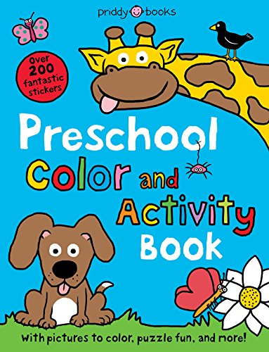9780312513177: Preschool Color and Activity Book