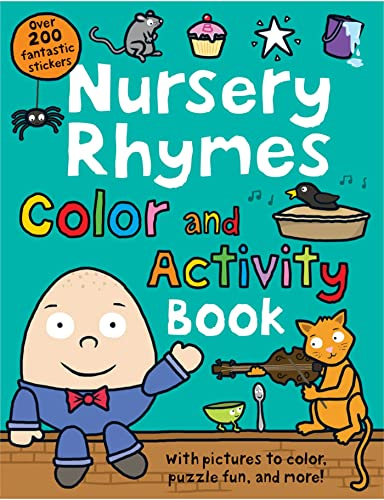 9780312513795: Nursery Rhymes Color and Activity Book