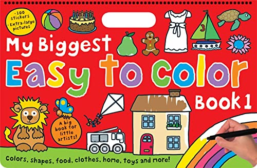 9780312513887: My Biggest Easy to Color, Book 1
