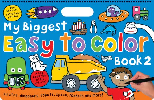 My Biggest Easy to Color Book 2: Priddy, Roger