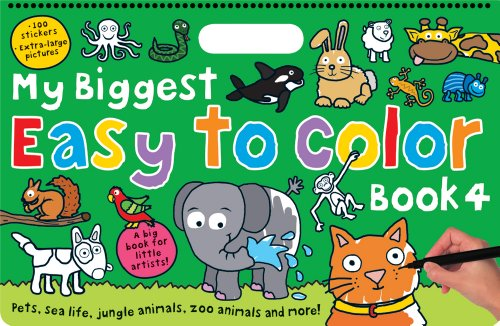 My Biggest Easy to Color Book 4: Priddy, Roger