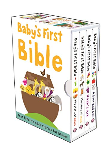 9780312514587: Baby's First Bible Boxed Set: The Story of Jesus, Noah's Ark, The Story of Moses, Adam and Eve