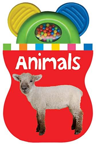 9780312514655: Baby Shaker Teethers Animals