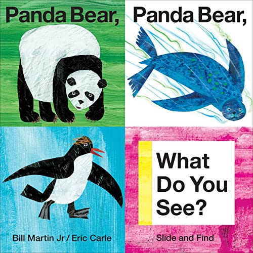 9780312515812: Panda Bear, Panda Bear, What Do You See? (Slide and Find)