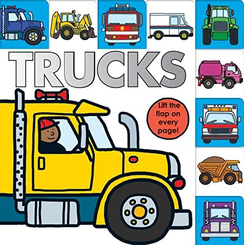 9780312515829: Lift-the-Flap Tab: Trucks (Lift-the-Flap Tab Books)