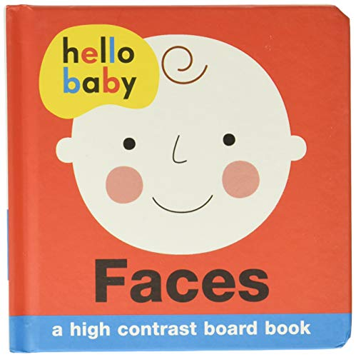 9780312516000: Hello Baby: Faces: A High-Contrast Board Book