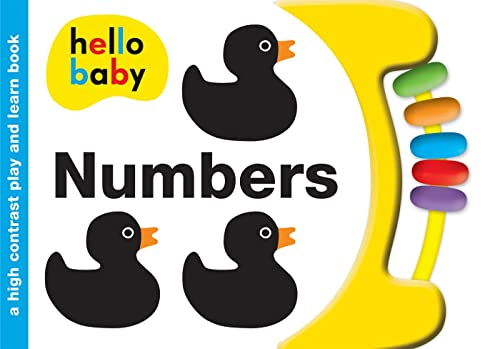 9780312516055: Hello Baby Play and Learn: Numbers: A High-Contrast Board Book