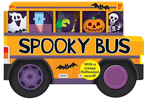 9780312516185: Spooky Bus: with a Creepy Halloween Sound (Shaped Board Books)