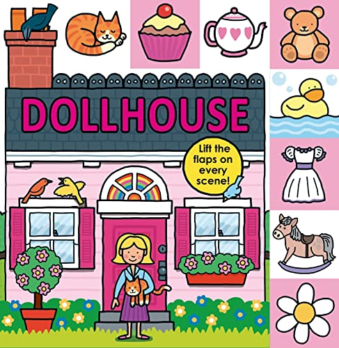 9780312516574: Lift-The-Flap Tab: Dollhouse (Lift-The-Flap Tab Books)