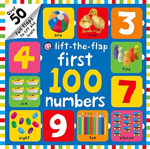 9780312516741: First 100 Numbers Lift-the-Flap: Over 50 Fun Flaps to Lift and Learn