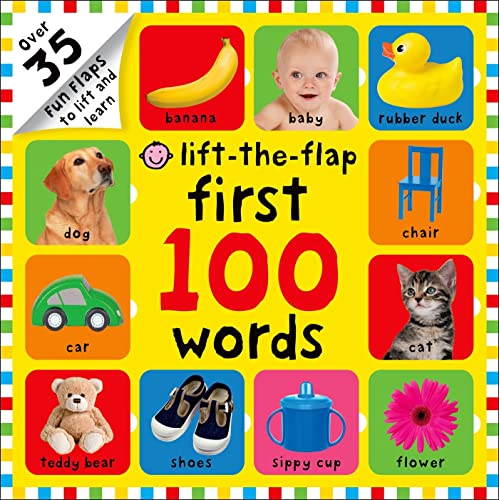 9780312516895: First 100 Words Lift-the-Flap: Over 35 Fun Flaps to Lift and Learn