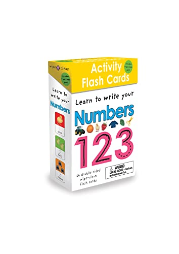 9780312517120: Wipe Clean: Activity Flash Cards Numbers