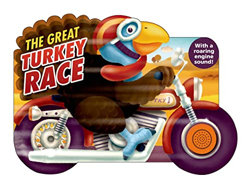 9780312517199: The Great Turkey Race: with a Raring Engine Sound (Shaped Board Books)