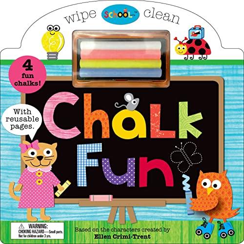 Chalk Fun [With 4 Chalks] (Schoolies): Crimi-Trent, Ellen