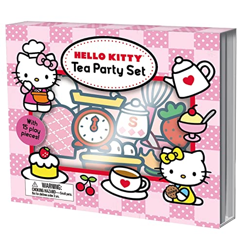 9780312517663: Hello Kitty: Tea Party Set: with 15 Play Pieces