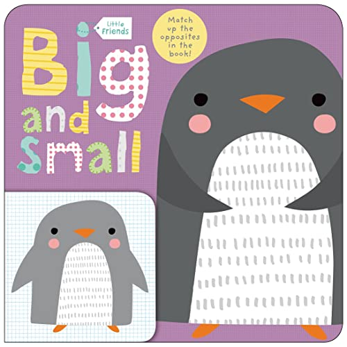 9780312517786: Little Friends: Big and Small: A Book about Opposites