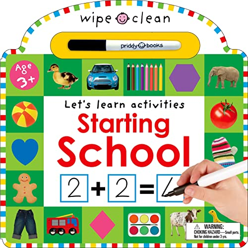 Wipe Clean: Starting School: Priddy, Roger