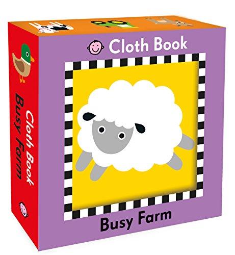 Busy Farm Cloth Book (My First Priddy): Priddy, Roger
