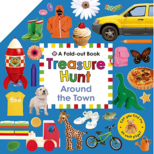 9780312517977: Treasure Hunt: Around the Town: A Fold-Out Book