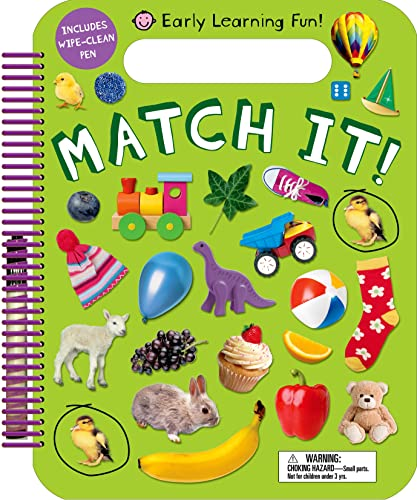 Early Learning Fun: Match It! (Wipe Clean): Priddy, Roger