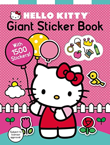 Hello Kitty: Giant Sticker Book: Priddy, Roger