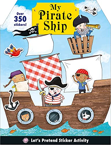 9780312518431: My Pirate Ship Sticker Activity Book (Let's Pretend Sticker Activity)