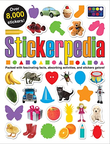 Stickerpedia: Packed with Fascinating Facts, Absorbing Activities and Over 8000 Stickers!
