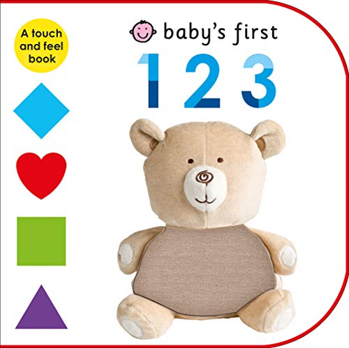 9780312519513: Baby's First 123: A Touch and Feel Book