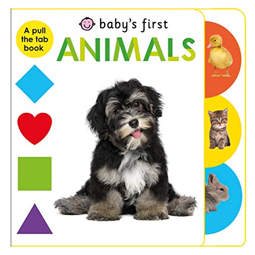 9780312519520: Baby's First Animals: A Pull the Tab Book