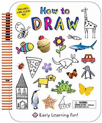 9780312519629: How to Draw: Includes Wipe-Clean Pen (Early Learning Fun)