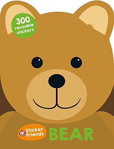 9780312519681: Sticker Friends: Bear: 300 Reusable Stickers