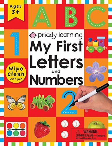 9780312525828: Wipe Clean Workbook: My First Letters and Numbers