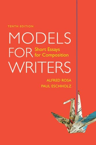 9780312531133: Models for Writers: Short Essays for Composition
