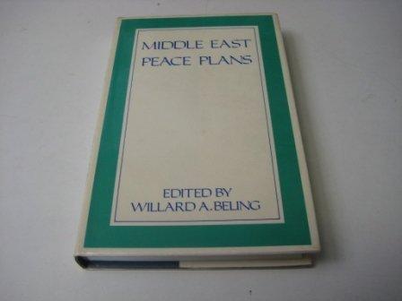 9780312531935: Middle East Peace Plans