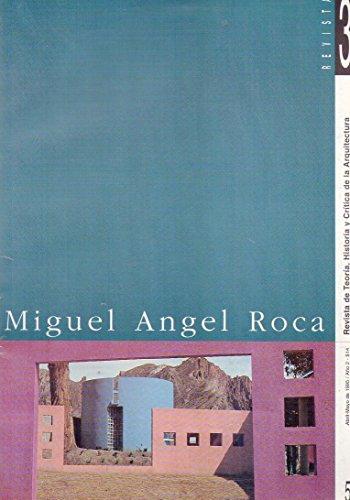 Miguel Angel Roca (English/Spanish): Jorge Glusberg, Miguel