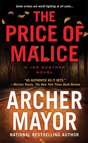 9780312532468: The Price of Malice (Joe Gunther)