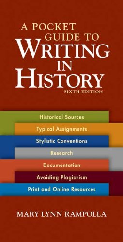 9780312535032: A Pocket Guide to Writing in History