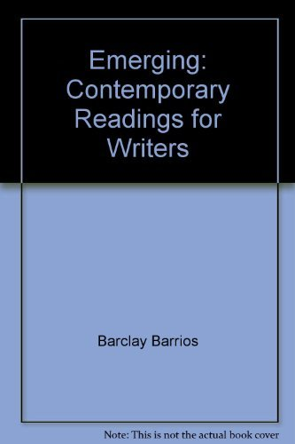9780312535544: Emerging: Contemporary Readings for Writers