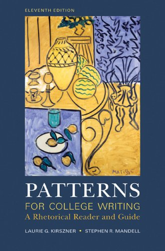 9780312537593: Patterns for College Writing