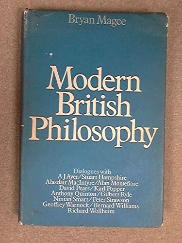 9780312537609: Modern British Philosophy
