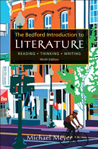 Bedford Introduction To Literature: Michael Meyer