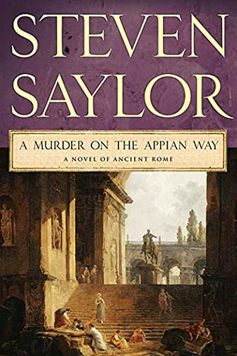 9780312539689: A Murder on the Appian Way (Novel of Ancient Rome)