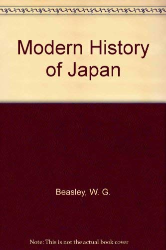 9780312539993: Modern History of Japan