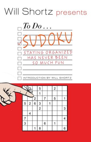 9780312541590: Will Shortz Presents To Do Sudoku: Staying Organized Has Never Been So Much Fun