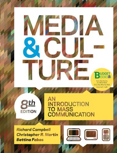 9780312542214: Loose-leaf Version for Media and Culture (Budget Books)