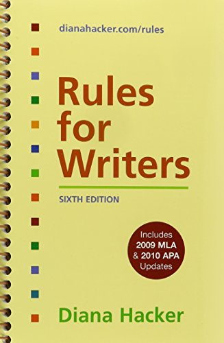 9780312543112: Arlington Reader 2e & Rules for Writers with Tabs 6e with 2009 MLA and 2010 APA Updates