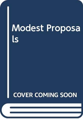 9780312543655: Modest Proposals: The Official Correspondence of Randy Cohen