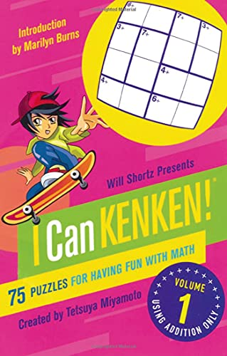 9780312546410: Will Shortz Presents I Can KenKen! Volume 1: 75 Puzzles for Having Fun with Math