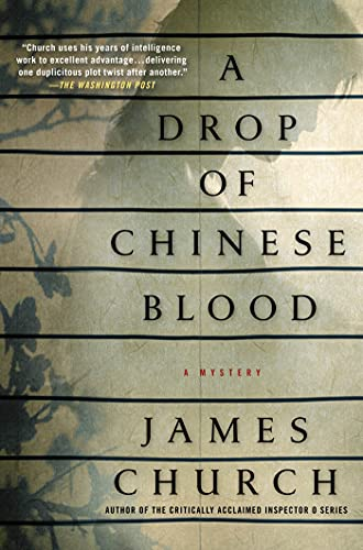 9780312550639: A Drop of Chinese Blood: A Mystery (Inspector O Novels)