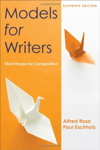 9780312552015: Models for Writers: Short Essays for Composition